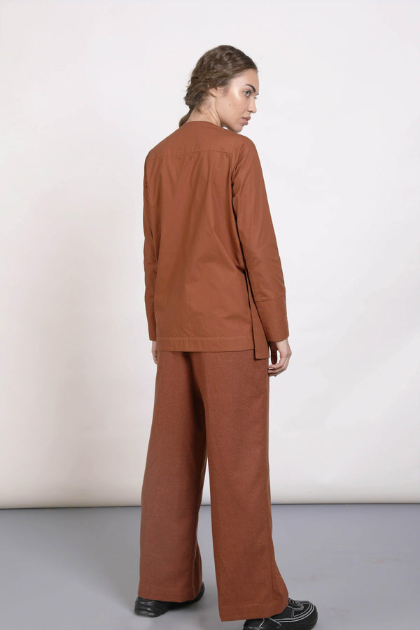 WORA SHIRT (TERRACOTTA) - Notebook