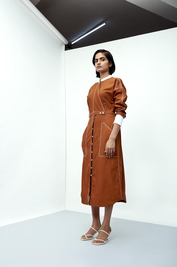 Harriet Shirt Dress - Notebook