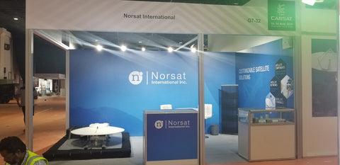 Norsat Strengthens Its Presence In The Broadcast Industry By Unveiling Next-Gen Products At Cabsat 2019