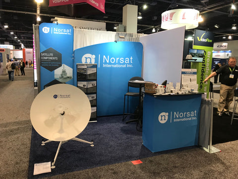 Content Comes To Life With Norsat At The Nab Show 2019