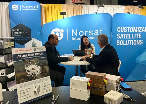 Norsat Showcases Innovation With Key Product Launches At Satellite 2019