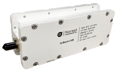 Norsat Launches World's First Q-Band Lnb