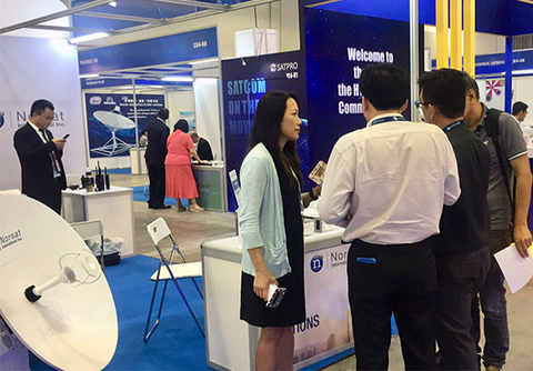 Norsat Gets The Wireless World Ready For 5g At Communicasia 2019