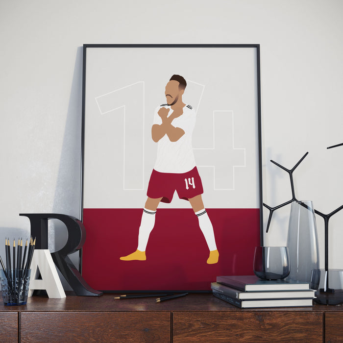 Aubameyang - North London Reds