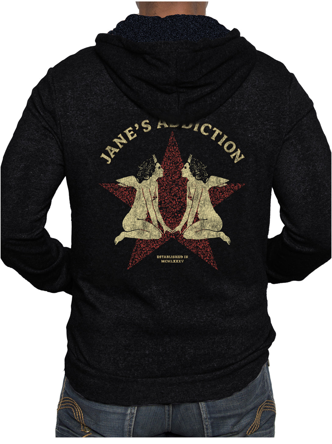 Jane's Addiction J-19 Gemini Unisex hoodie