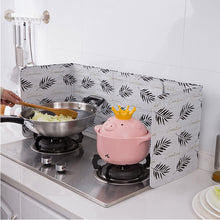Load image into Gallery viewer, Foldable Aluminum Kitchen Splash Plate