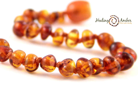 Caramel ~ Circle ~ 6.5 inches (clasp)
