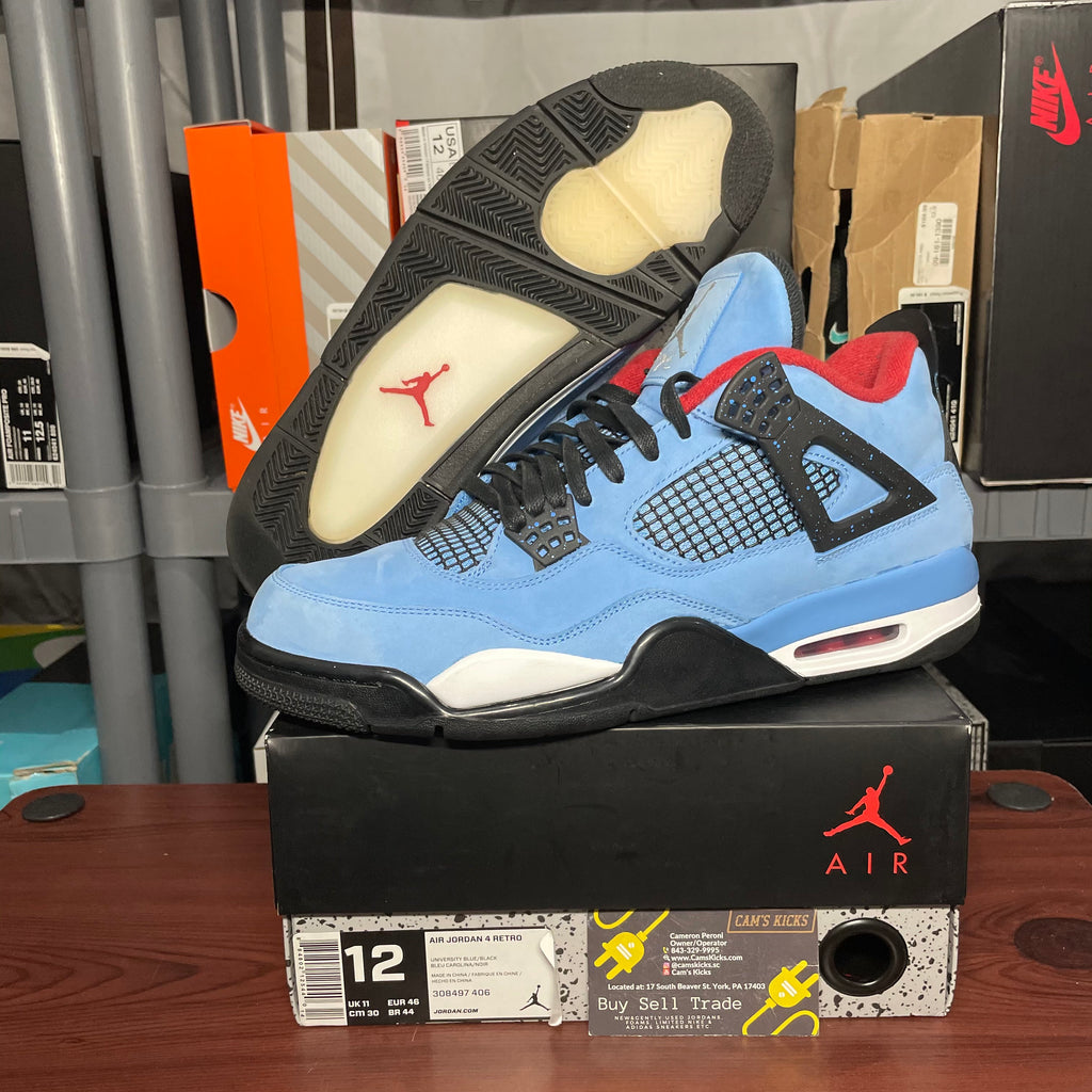 Air Jordan Retro 4 x Travis Scott (Pre-Owned)
