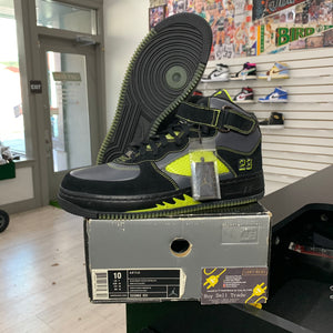 Air Jordan Force Black Bright Cactus 5