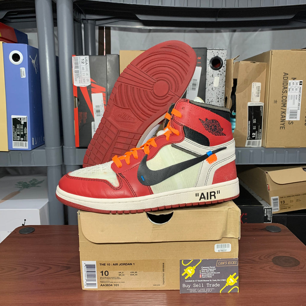 Air Jordan Retro 1 x Off-White Chicago (Pre-Owned)