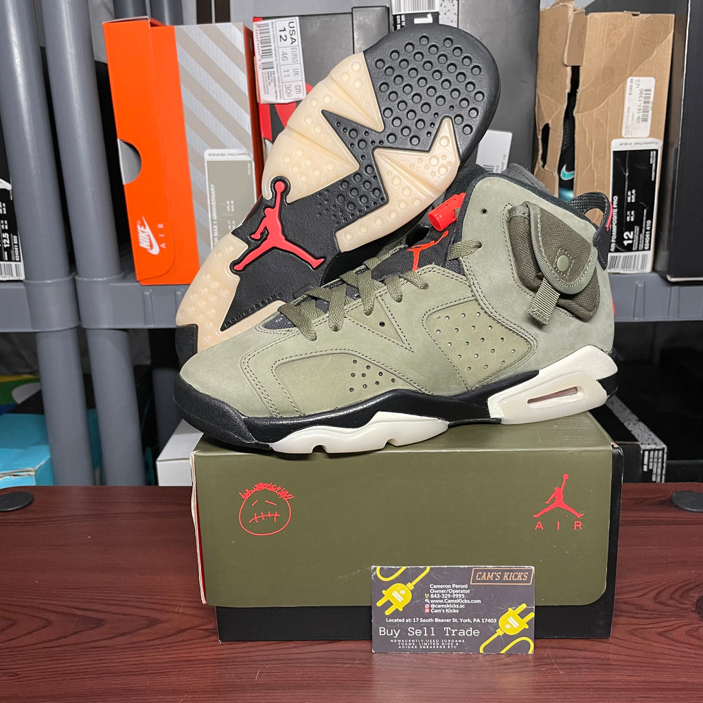 Air Jordan Retro 6 x Travis Scott GS