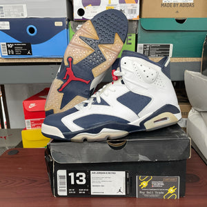 Air Jordan Retro 6 Olympic London 2012