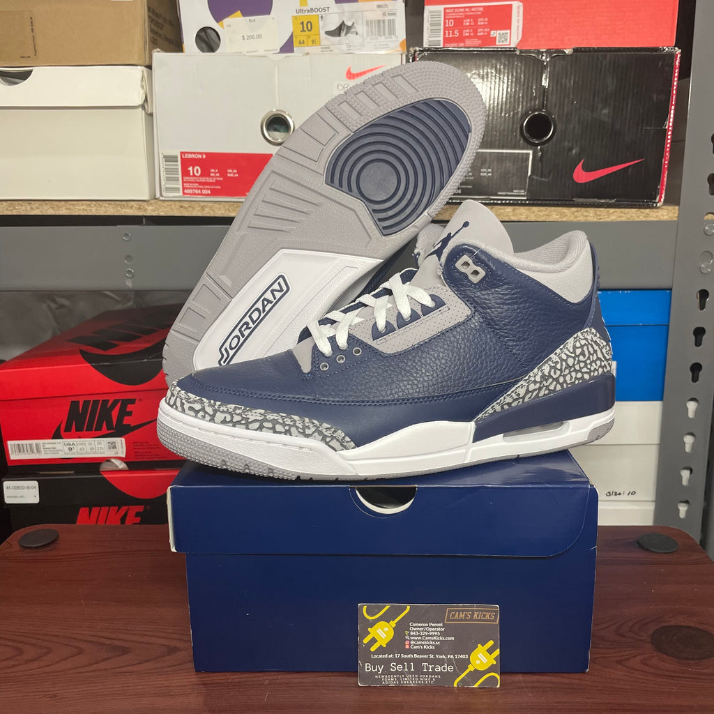 Air Jordan Retro 3 'Georgetown'