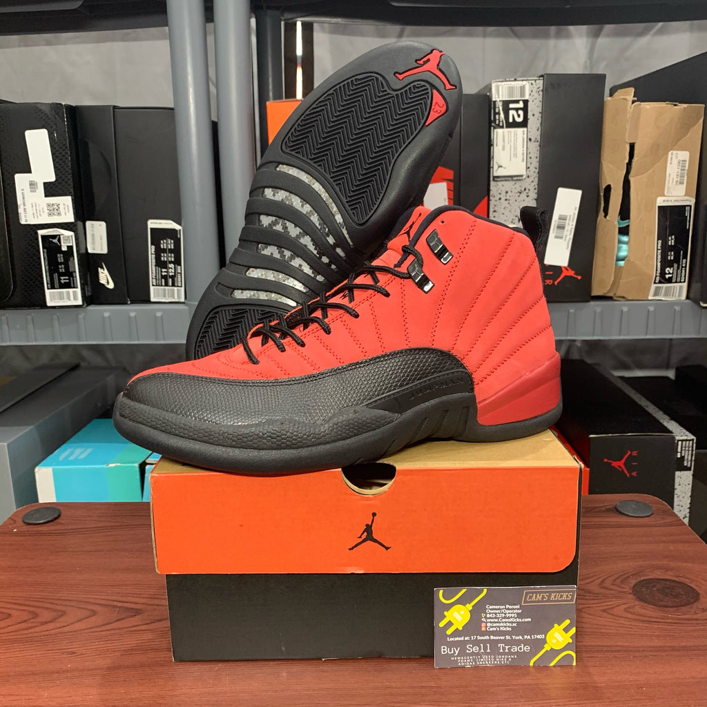 Air Jordan Retro 12 Reverse Flu Game