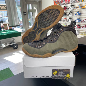 Nike Foamposite One Suede Olive (Pre-Owned)