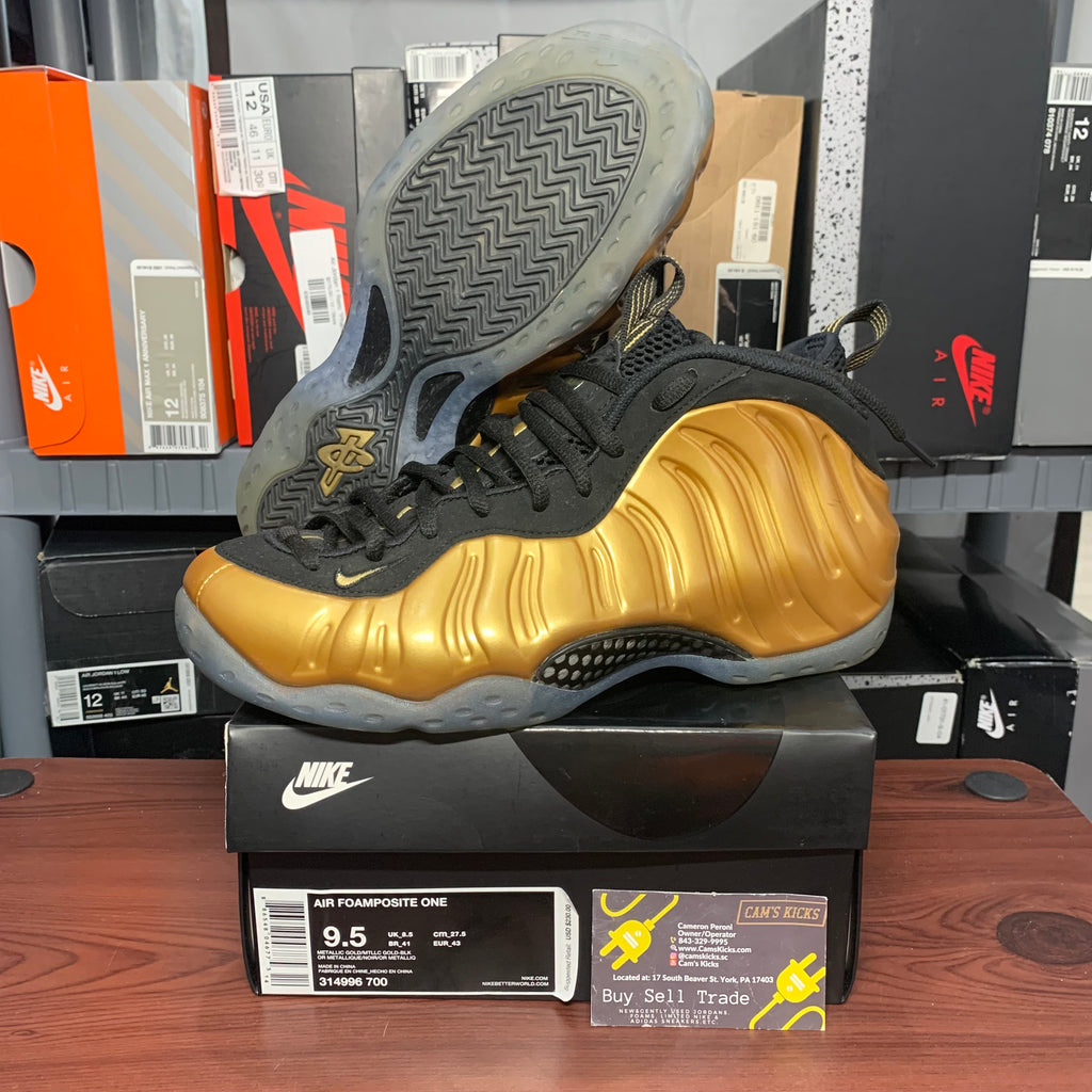 Nike Foamposite One Metallic Gold (Pre-Owned)