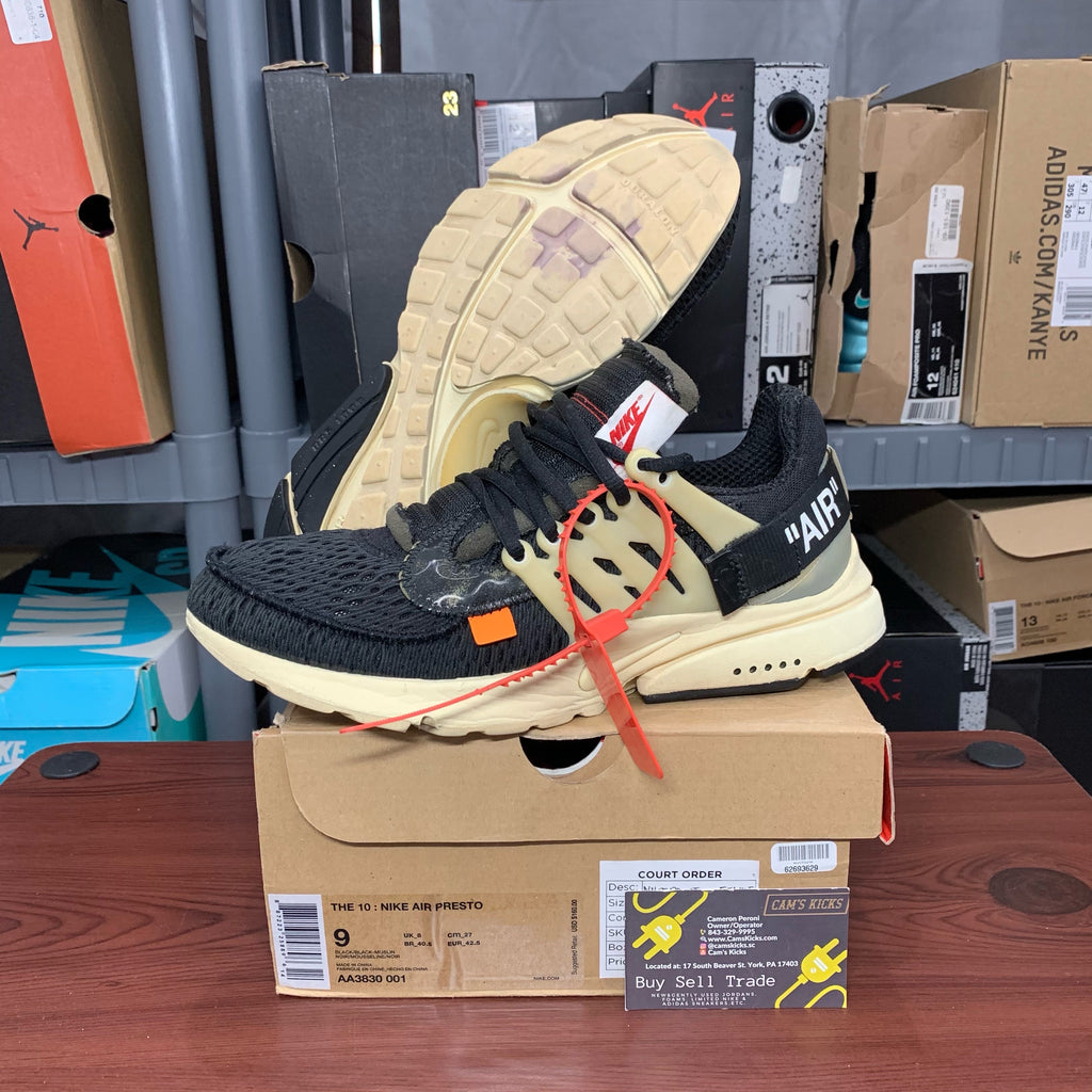 Nike Air Presto x Off-White OG (Pre-Owned)