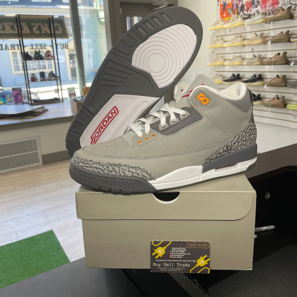 Air Jordan Retro 3 'Cool Grey (2021)'