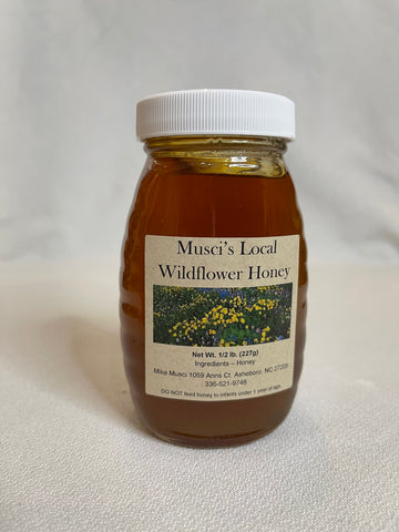 Musci's Local Wildflower Honey - 8oz.