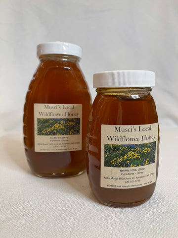 Musci's Local Wildflower Honey - 16oz.