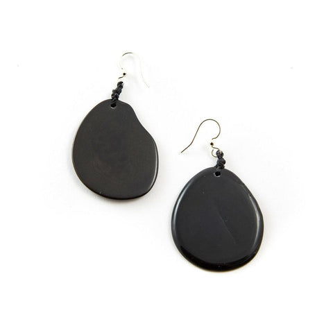 Amigas Earrings- Onyx