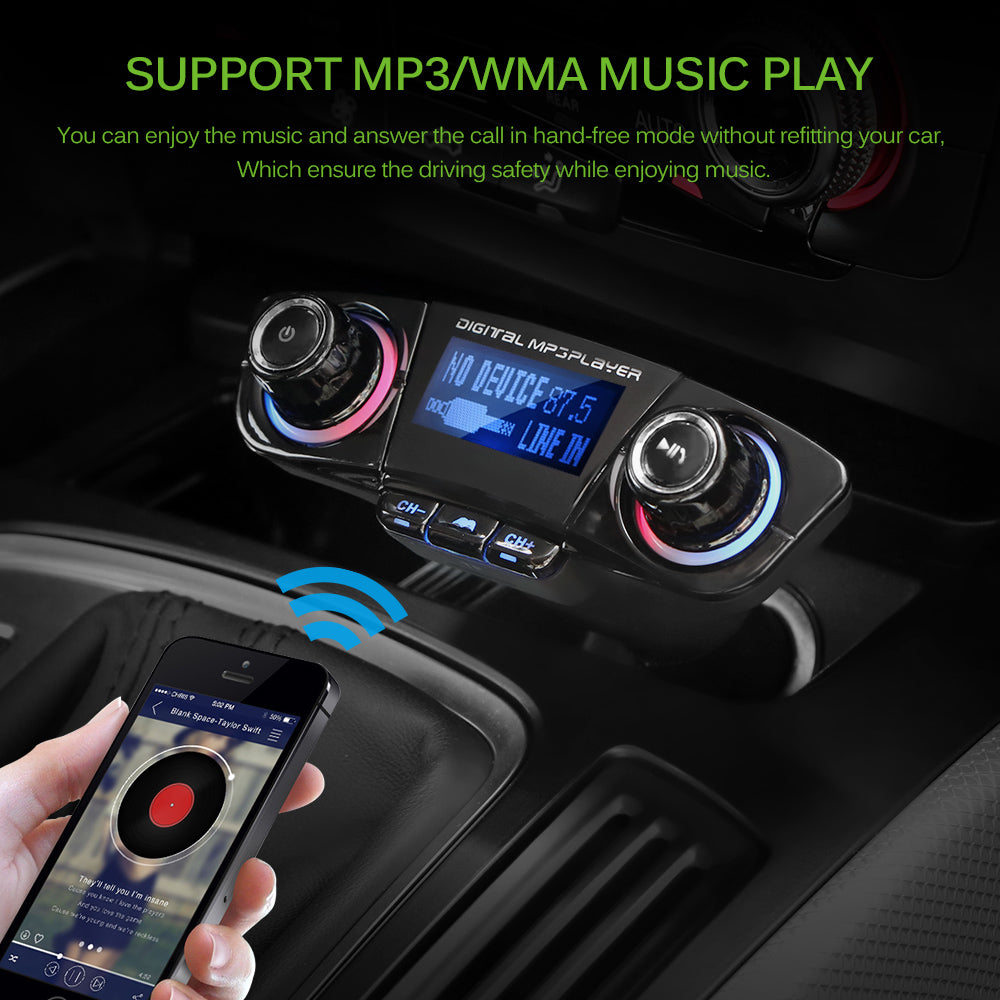 BT06 Car FM transmitter MP3 Player Audio Receiver