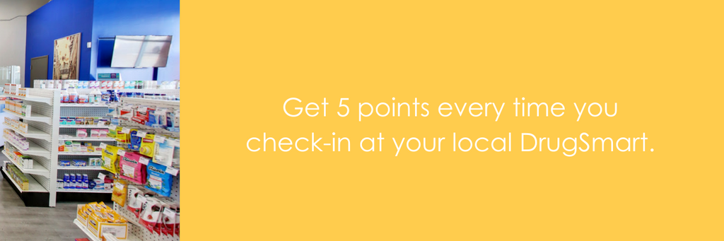 Receive 5 Circle points every time you check in