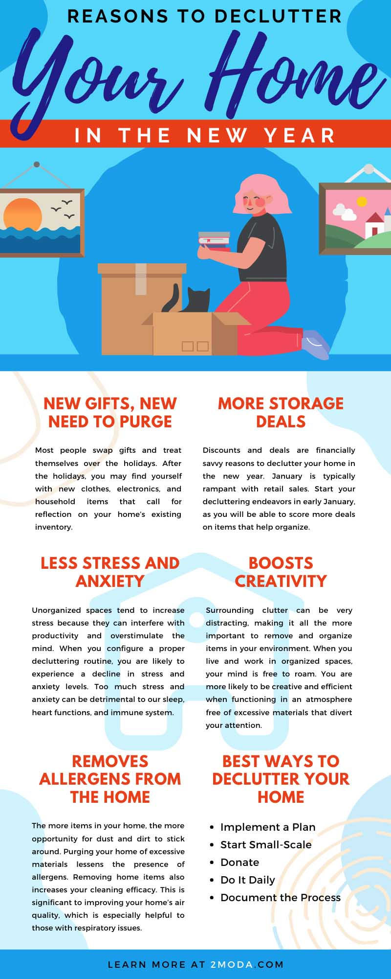 Reasons To Declutter Your Home in the New Year