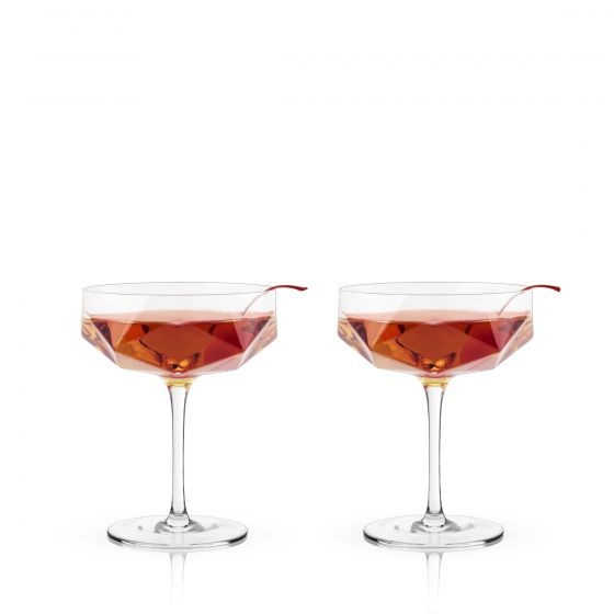 Faceted Crystal Coupes