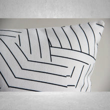 Load image into Gallery viewer, Geometric Lines Pillow - Cover Only