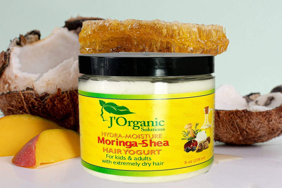 J'organicsolutions moisturizer Sealer Moringa-Shea Hair Yogurt
