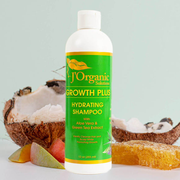 J'organicsolutions shampoo Growth-Plus Hydrating Shampoo