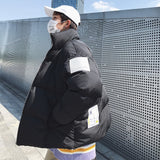 Privathinker 2020 Winter New Men's Stand Collar Parkas Woman Warm Streetwear Coat Man Thicken Zipper Fashion Korean Clothing