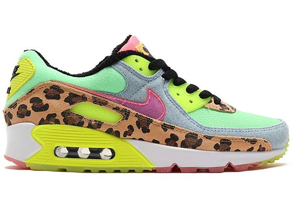 NIKE AIR MAX 90 LX 90s DANCEFLOOR GREEN