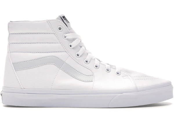 Vans Sk8-Hi True White Leather