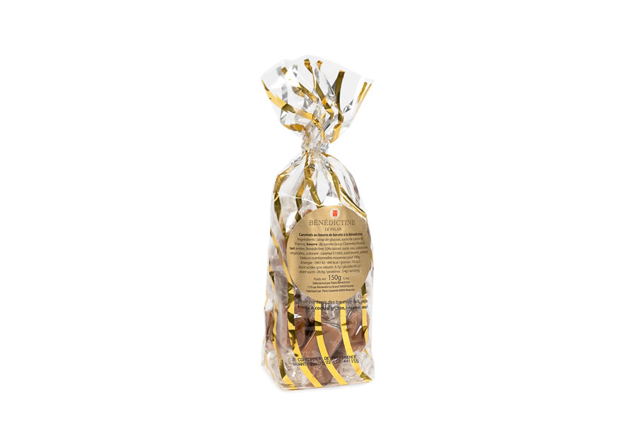 Caramel candy with Benedictine 150gr