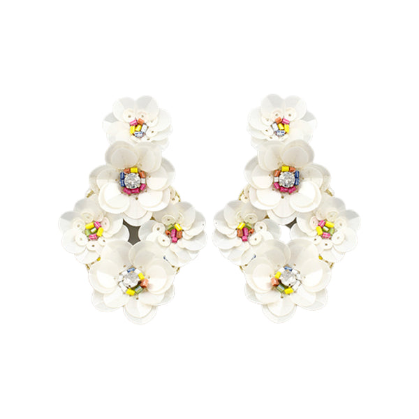 Bishop Boutique Flower Earring