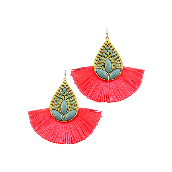 Bishop Boutique Tassel Earring
