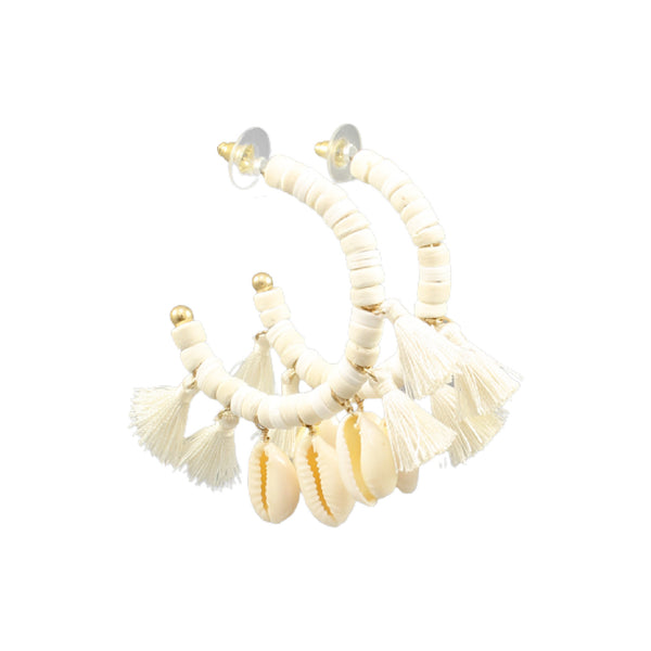 Bishop Boutique Cowry Shell Earring