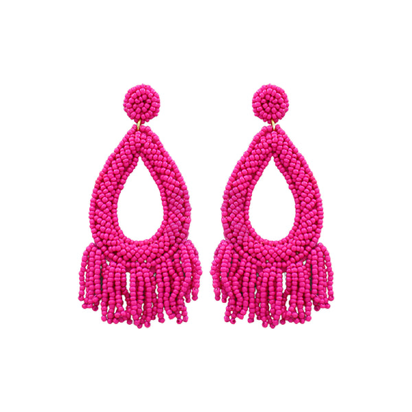 Bishop Boutique Fringe Teardrop Earring
