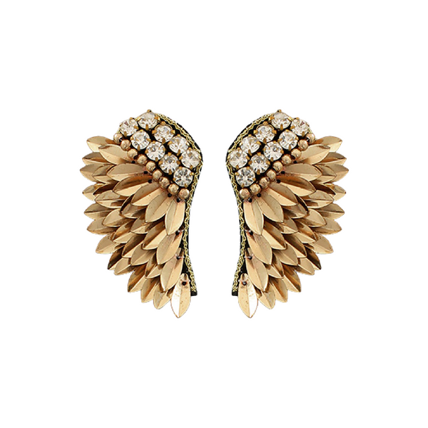 Bishop Boutique Beaded Wing Earring