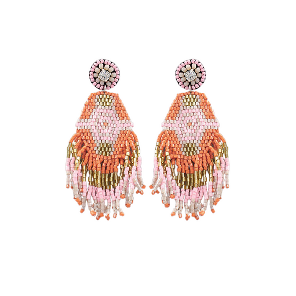 Bishop Boutique Tassel Bead Earring