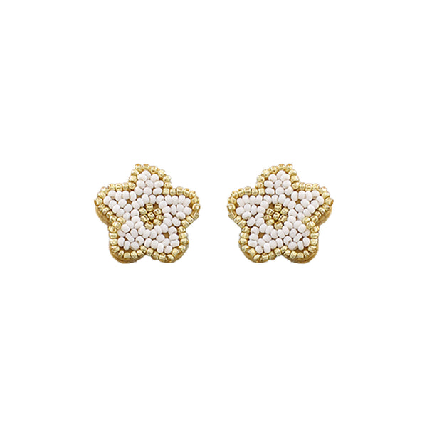 Bishop Boutique Flower Stud Earring