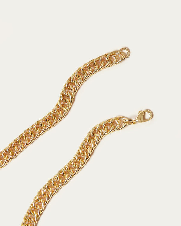 Loeffler Randall Tiana Twisty Chain Necklace