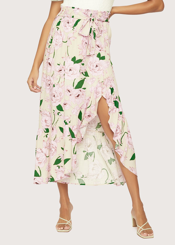 Lost + Wander Hawaiian Rose Skirt