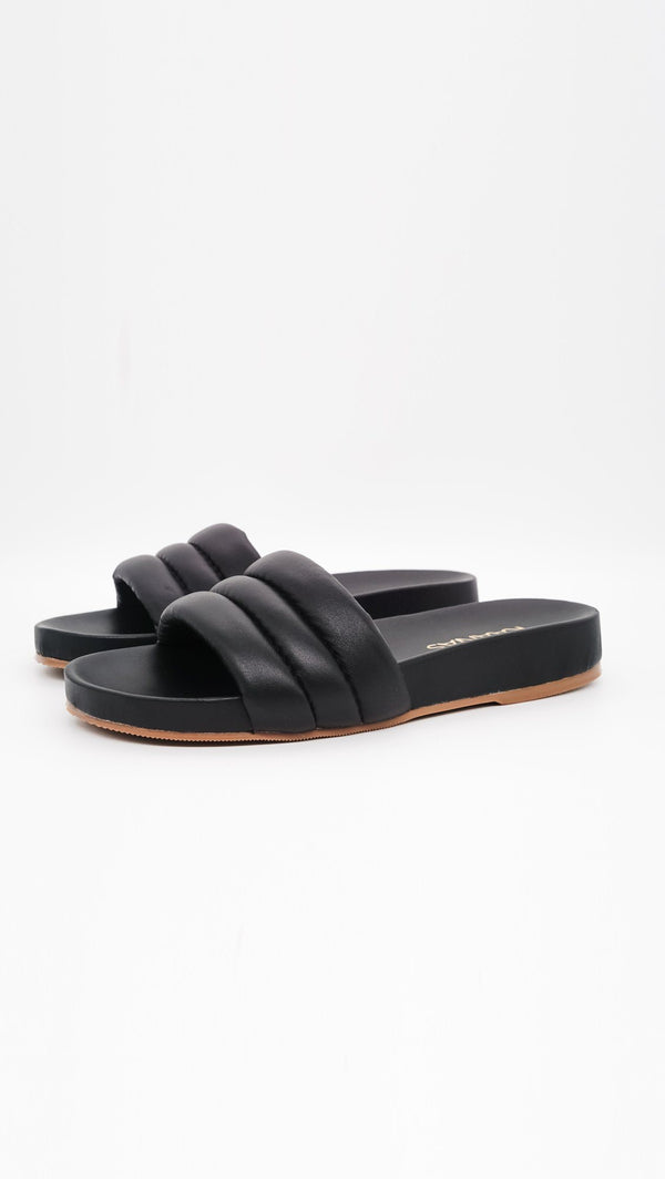 Kaanas Timor Pool Slide in Black