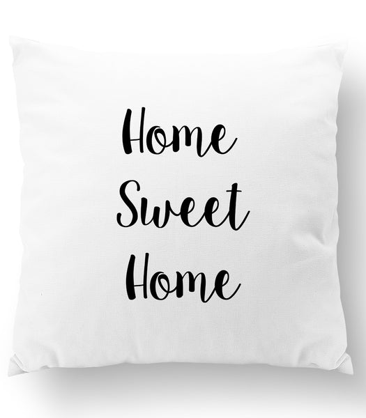Home Sweet Home Throw Pillow Cover