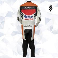 Load image into Gallery viewer, Honda Repsol Gas Motogp Leather Racing Suit