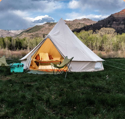 Why a bell tent?