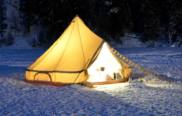 Snow and camping